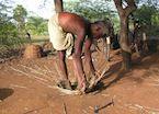 Traditional basket making - Chettinad, India
