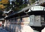 Mausoleum lantern & wall, Nikko