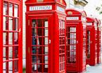 London phone boxes