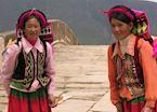 Local Pumi ladies, Shaxi