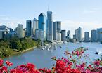 Brisbane River and City, Queensland