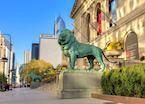 Art Institute Lion Chicago