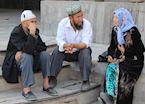 Uighars in Kashgar