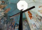 Magellan's Cross in Basilica del Santo Niño, Cebu