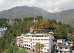 View of McLeod Ganj, near Dharamshala