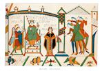 Engraving of the Bayeux Tapestry, Normandy