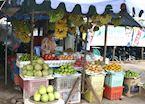 Market stall, Sihanoukville, Cambodia