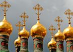 Kremlin domes, Moscow