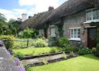 Thatched cottages in Adare