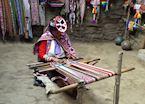 Weaver in Choquecancha, Sacred Valley, Peru