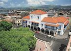 Ayuntamiento (town hall), Parque Cespedes, Santiago de Cuba
