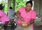 Cacao Plantation worker, Punta Gorda
