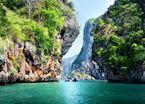 Limestone karst, Krabi, Thailand