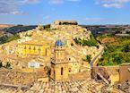 View to Ragusa Ibla, Sicily