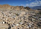 The rooftops of Leh, Ladakh