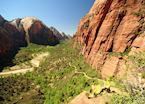 Zion Canyon & Angel's Landing Trail, Zion National Park