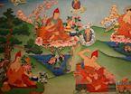 Thangka paintings at Norbulingka Insititute, Dharamasala