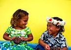 Local Children, Cook Islands