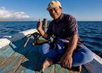 Fishing trip in Bali Barat, Indonesia