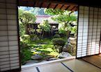 Backyard Garden, Tsumago, Japan