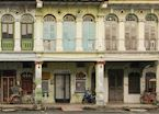 Shop houses in George Town, Penang