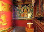 A local monastery, Gyantse