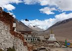 Rongbuk Monastery and Mount Everest, Tibet