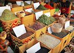 Herbs and spices for sale in Aqaba