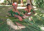 Weaving in the Mamanuca and Yasawa Islands, Fiji