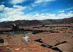 Cuzco rooftops, Peru