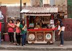Street food stall, Manila