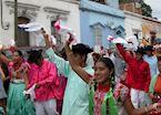 Guelaguetza parades, Oaxaca