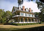 One of the historic homes on Jekyll Island