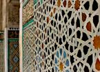 Traditional mosaics in Fez