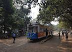 Calcutta Tram at Esplanade