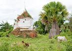 Dilapidated temples at Sagar, Inle Lake