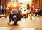 Street scene, Milan