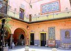 Tiled Colonial Proerty in Puebla, Mexico