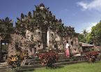 Local temple ceremony, Pemuteran, Indonesia