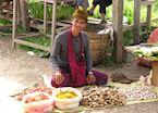 Market trader, Kalaw
