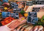 Fish market, France
