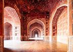 Taj Mahal Mosque Interior