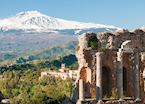 Ancient ruins, Taormina