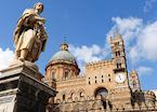 Ancient statue, Palermo