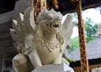 Garuda statue outside a Balinese temple