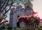 Colonial church, Oaxaca