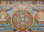 Temple detail, Ulaan Baatar
