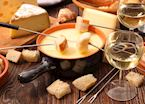 Cheese fondue, France