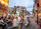 Vespas in Saigon