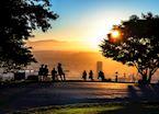 Viewing a Portland Oregon sunrise